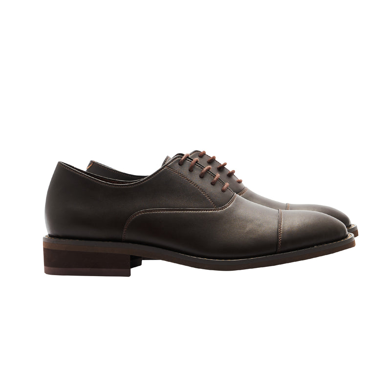 Gullar ladies simple tangent Oxford-vegetarian leather shoes