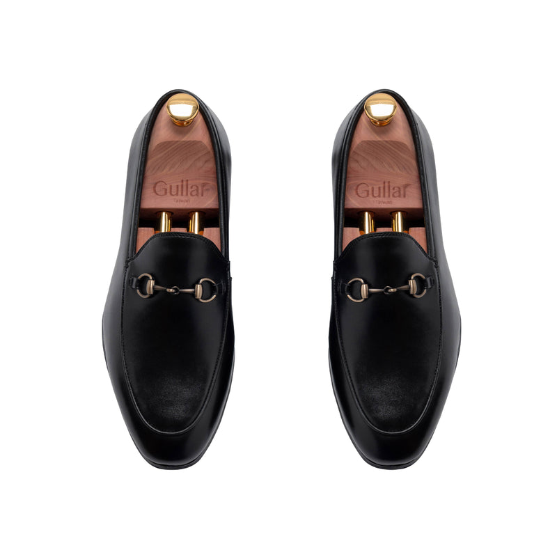 Gullar Men's Buckle Style Yale Fu-Vegetarian Leather Shoes