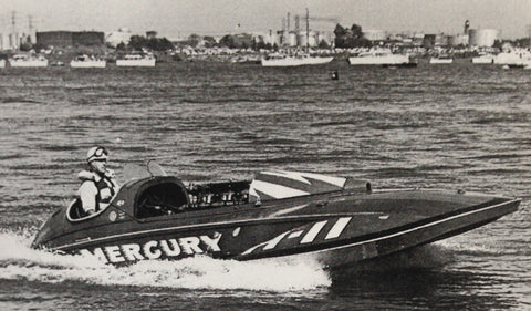 Racing Legend - Lou Fageol Tests Mercury at the Buffalo Launch Club