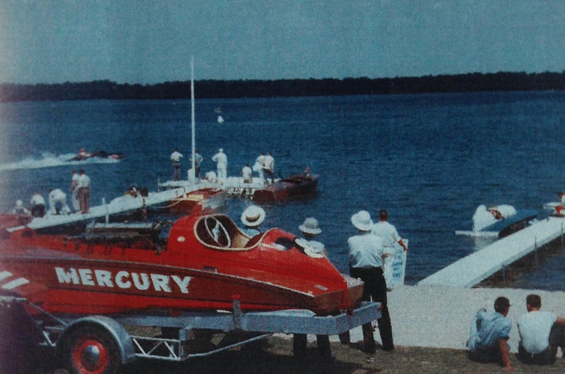 1948 Ventnor Hydroplane - Mercury: 1953 Gull Lake Montana