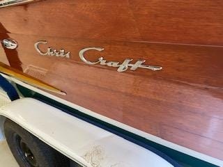 1955 CHRIS CRAFT 22' CONTINENTAL