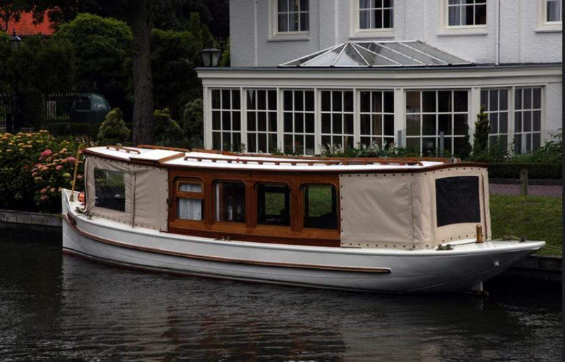 Classic Wooden Boat for Sale -  1910 DUTCH SALON BOAT