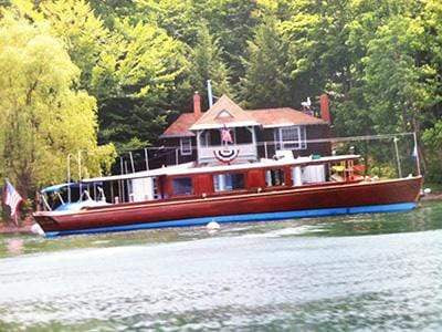 Classic Wooden Boat for Sale -  1912 ELCO 55' DAY CRUISER/COMMUTER