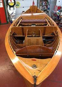 Classic Wooden Boat for Sale -  1921 DISPRO - DISAPPEARING PROPELLER BOAT