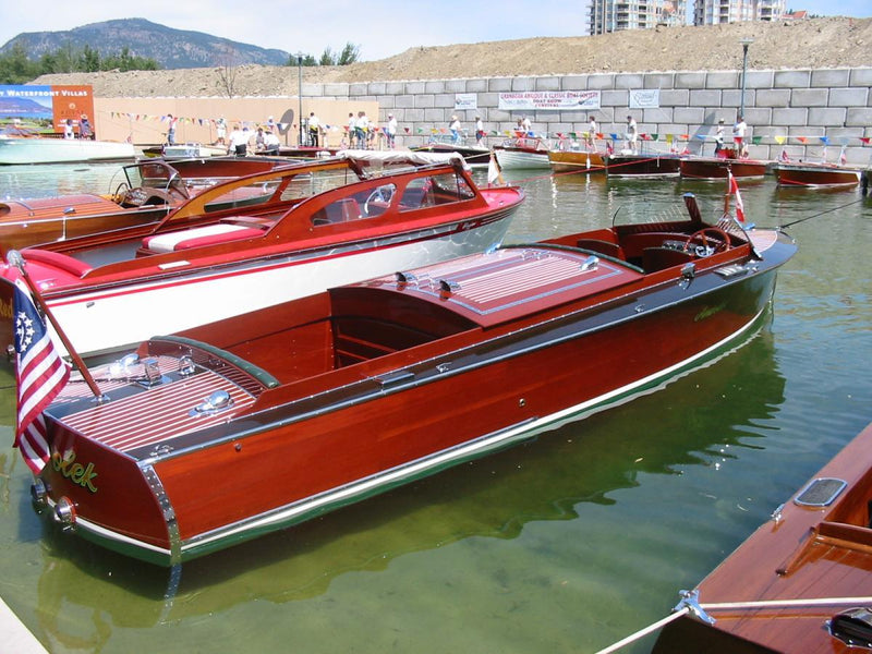 Classic Wooden Boat for Sale -  1926 JONES HACKER 24'
