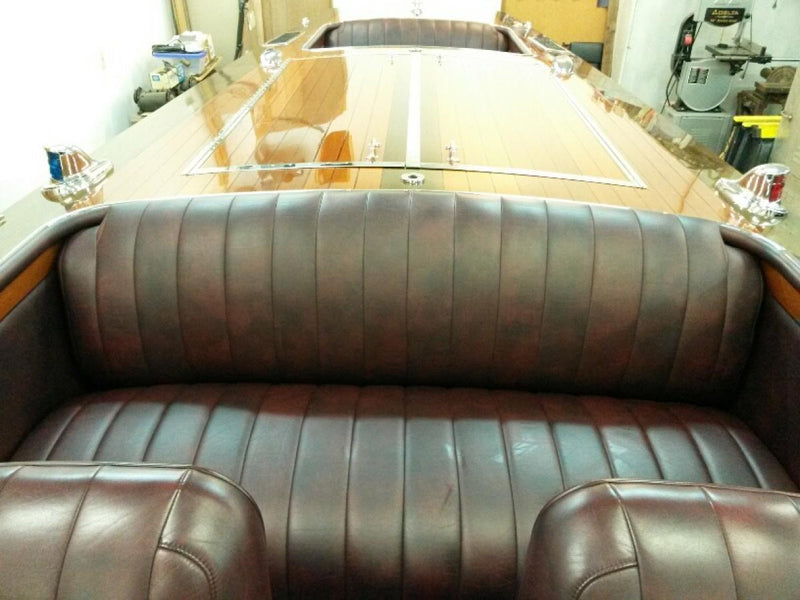 Classic Wooden Boat for Sale -  1928 TRIPLE COCKPIT 28' RUNABOUT