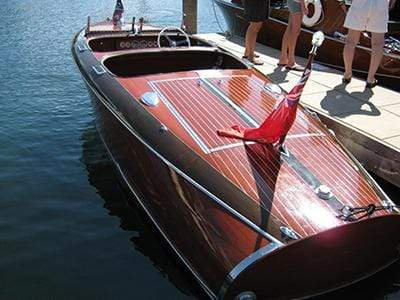 Classic Wooden Boat for Sale -  1939 CHRIS-CRAFT 19' CUSTOM - 'BARRELBACK'