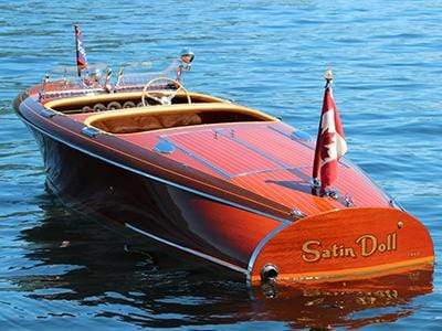 Classic Wooden Boat for Sale -  1940 CHRIS-CRAFT 19' CUSTOM - 'BARRELBACK'