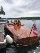 Classic Wooden Boat for Sale -  1946 GAR-WOOD COMMODORE MODEL 606 19'5