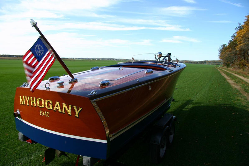 Classic Wooden Boat for Sale -  1947 CHRIS CRAFT 17' DELUXE