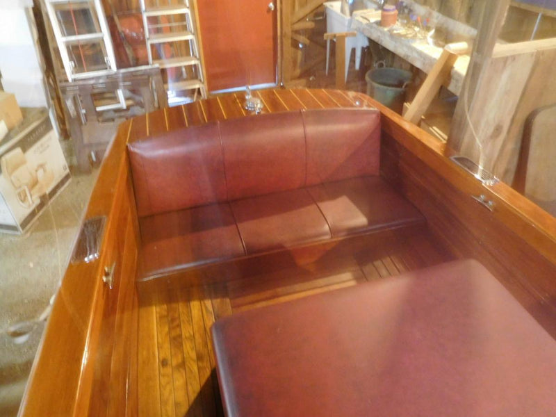Classic Wooden Boat for Sale -  1948 CENTURY 16' RESORTER