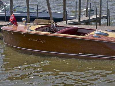 Classic Wooden Boat for Sale -  1949 CHRIS-CRAFT 18' RIVIERA
