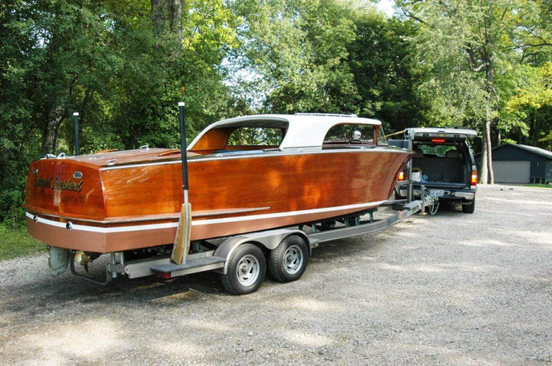 Classic Wooden Boat for Sale -  1954 SHEPHERD 24' HARDTOP