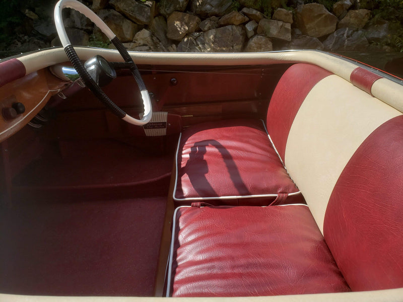 Classic Wooden Boat for Sale -  1956 LARSON - FALLS FLYER 14'