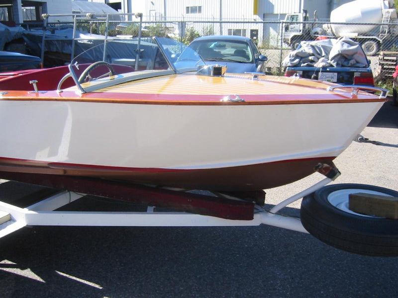 Classic Wooden Boat for Sale -  1959 MERRELL 15' RUNABOUT