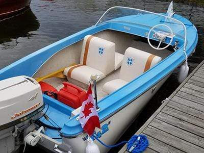 Classic Wooden Boat for Sale -  1961 THERMOCRAFT 14' Outboard