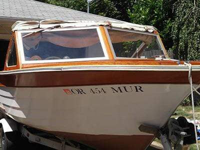 Classic Wooden Boat for Sale -  1963 THOMPSON 18' SUPER SEA LANCER