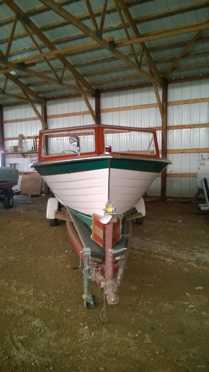Classic Wooden Boat for Sale -  1964 LYMAN 21' CUDDY STYLE INBOARD