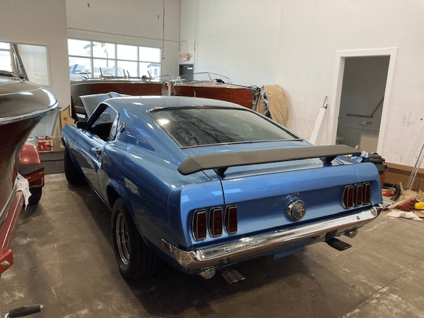 Classic Wooden Boat for Sale -  1969 Mustang Mach 1 - 351W