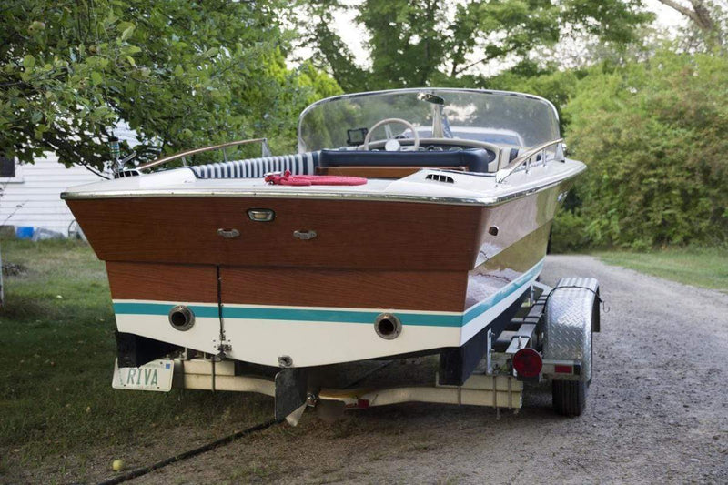Classic Wooden Boat for Sale -  1982 RIVA RUDY 'SUPER' 19.4'