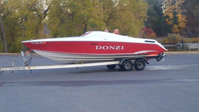 Classic Wooden Boat for Sale -  1986 DONZI Z-25