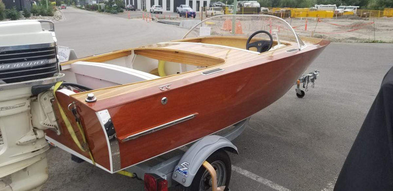 Classic Wooden Boat for Sale -  2010 GLEN-L ZIP