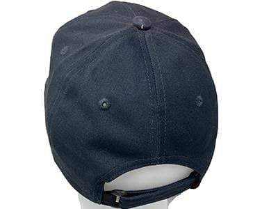 Wooden Boat Hat for Sale - Chris-Craft Post-War Adjustable Ball Cap Navy Blue with White Script and White Brim
