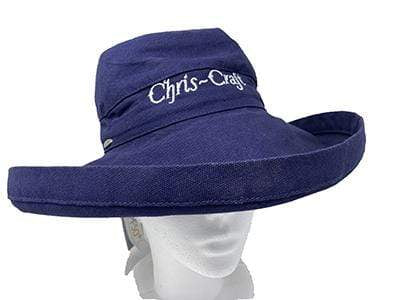 Classic Wooden Boat for Sale -  Pre-War Chris-Craft - Bucket Hat - Blue with White Script
