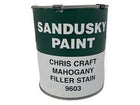 Classic Wooden Boat Parts & Supplies for Sale - Sandusky - Chris Craft Mahogany Filler Stain - 9603