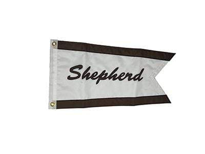 Classic Wooden Boat Parts for Sale - Shepherd Nylon Burgee (Large)