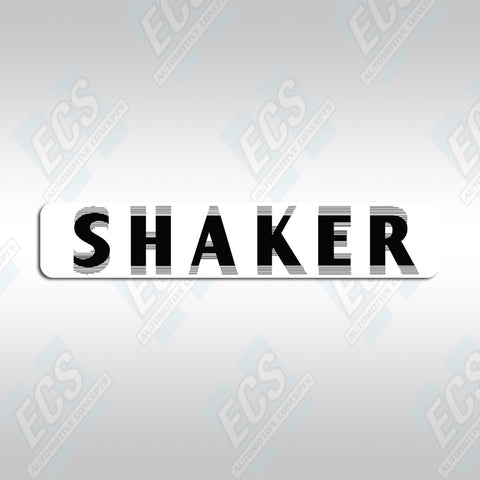 1970-71 Mopar: E-Body Shaker Hood Decal