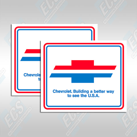 Chevrolet Pre-Delivery Paper Floor Mats (Multiple Options!)