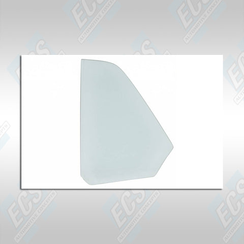 1964-76 Ford Vehicles: Quarter Glass w/ Etching (Your Date Code & Correct Logo)
