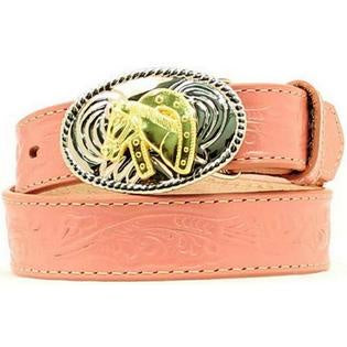 YOUTH NOCONA BELT/PINK-N4410530
