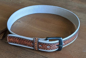 3D TAN ROPE BELT-2382