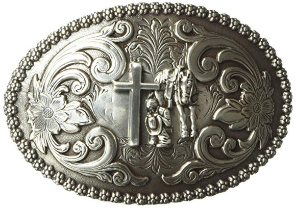 NOCONA OVAL PRAYER BUCKLE-3707259