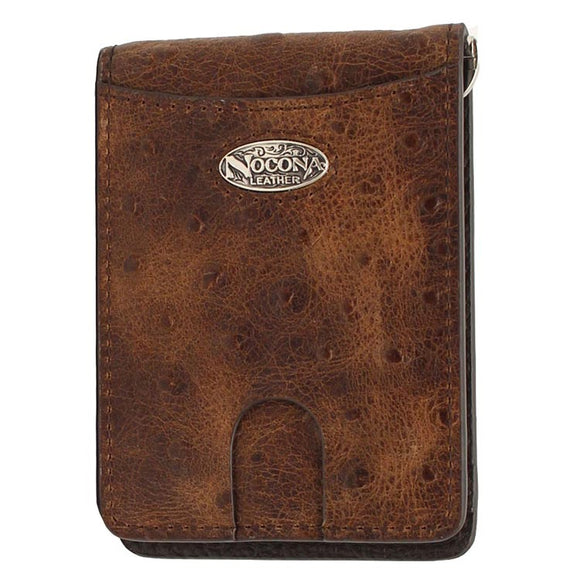 MEN'S NOCONA OSTRICH PRINT MONEY CLIP-N5487902