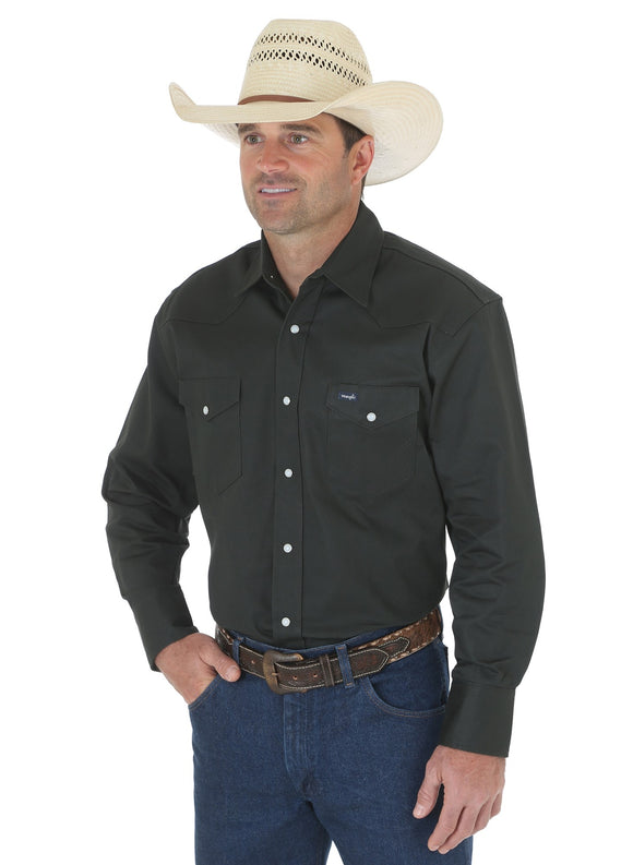 Men's Authentic Cowboy Cut Work Shirt-MS70519