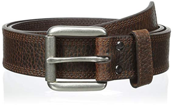 MENS ARIAT BROWN DRESS BELT-A10004630