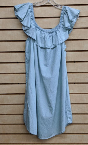 LADIES PANHANDLE SLIM DRESS/BLUE-D5-5802
