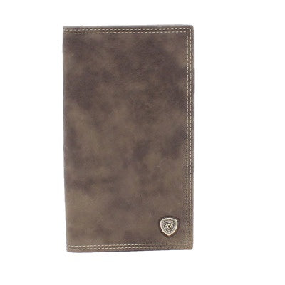 MEN'S ARIAT RODEO SHIELD CONCHO GREY BIFOLD-A3544806