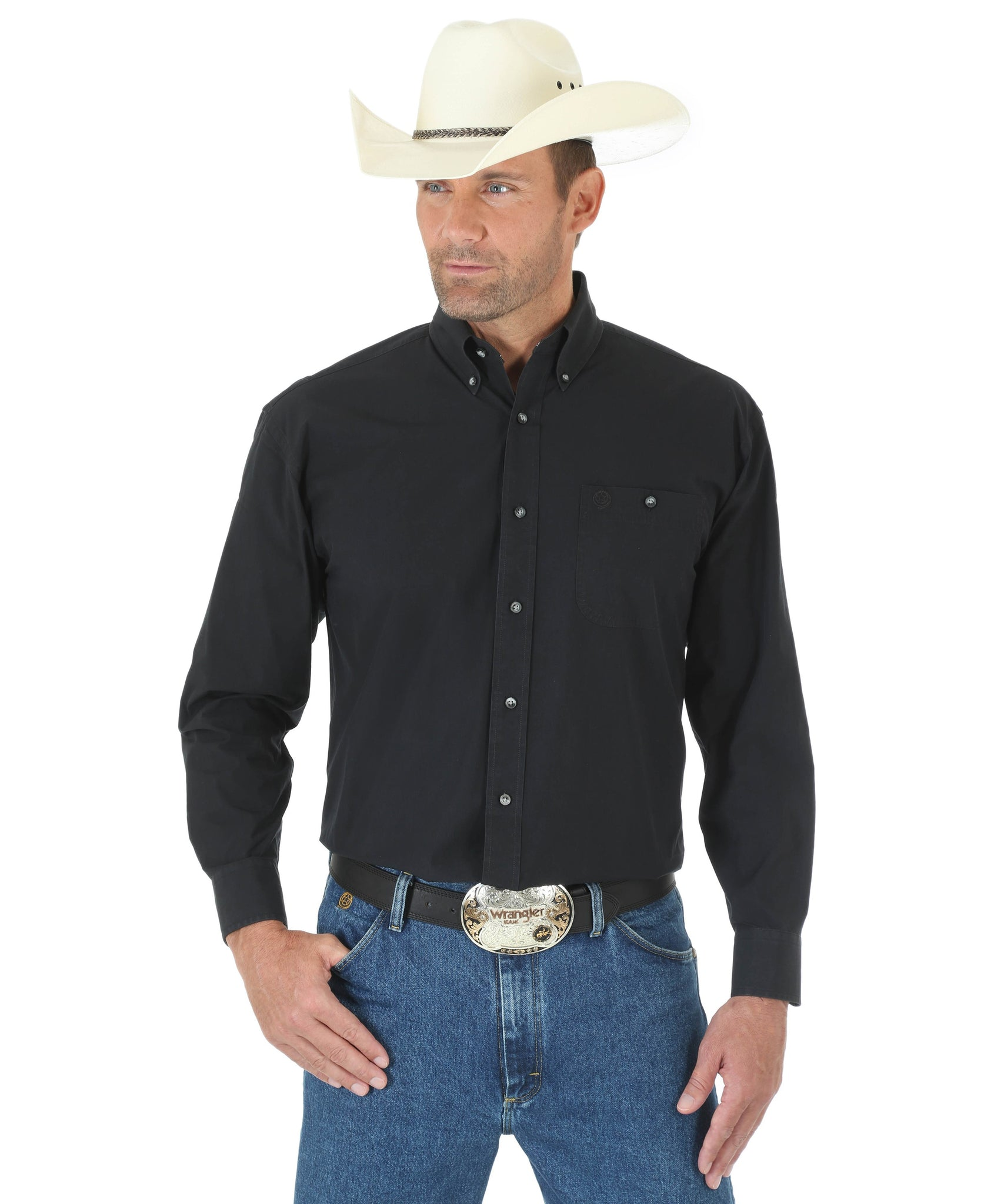George Strait Long Sleeve Shirt-MGS269X