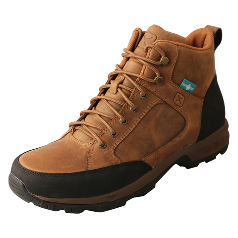 "MEN'S TWISTED X 6"" LACE UP HIKER BOOT WP-MHKW006"