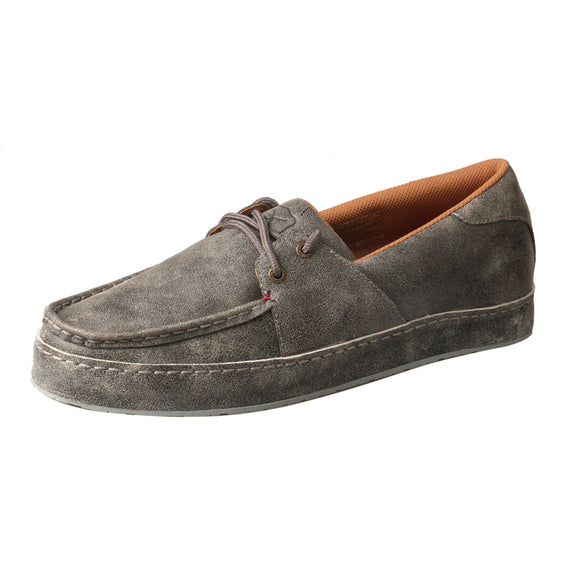 MEN'S TWISTED X BOAT SHOE WRAP SOLE/MARBLED GREY-MWS0003