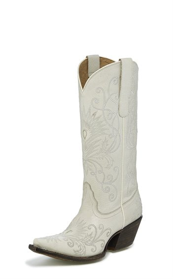 LADIES TONY LAMA CUERVO IVORY-VF3051