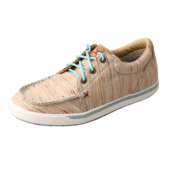 LADIES HOOEY LOPER/TAN & MULTI-WHYC011