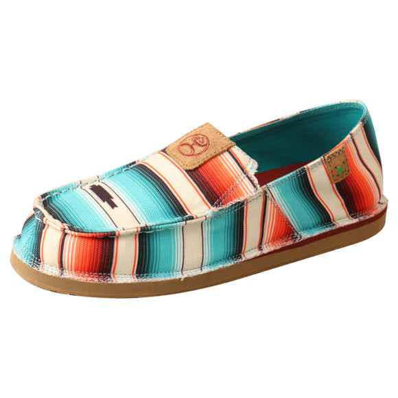 LADIES HOOEY SLIP-ON LOPER/SUNSET SERAPE-WHYCL01