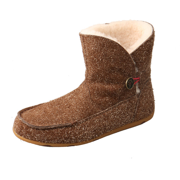 LADIES TWISTED X SLIPPER BOOT/BARK-WSR0004