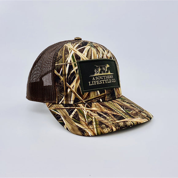 MEN'S DUCK CAMO TRUCKER HAT-DUCK1