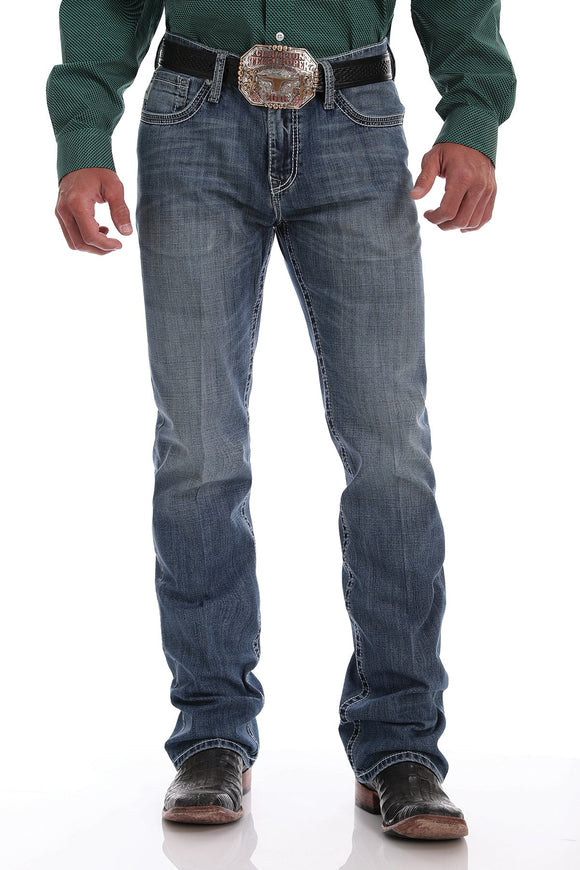 MEN'S CINCH IAN ARENAFLEX SLIM FIT/MEDIUM STONEWASH-MB69836001